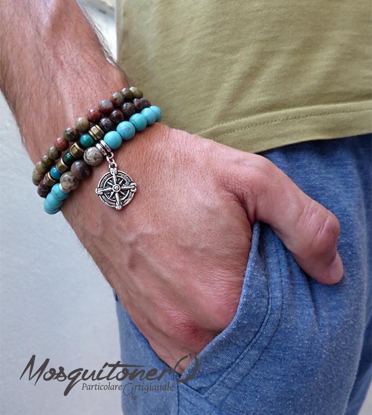 Famoso bracciale perle OH54